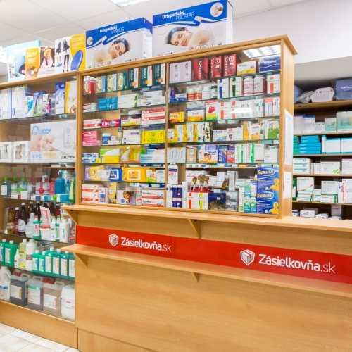 Velký výber voľno predajných liekov a podporných látok